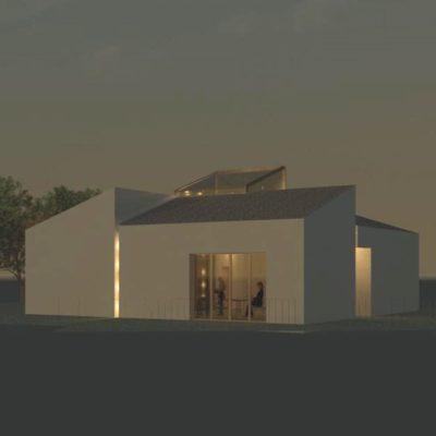 Vista notturna progetto S. Savino